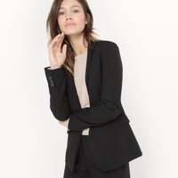 Tailored Blazer, Length 65cm
