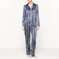 2-piece Striped Long-sleeved Pyjamas