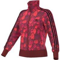 Floral Print Zip Up Jacket
