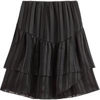 shop for Ruffled Voile Mini Skirt at Shopo