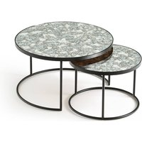 Lipstick Nested Coffee Tables (Set of 2)