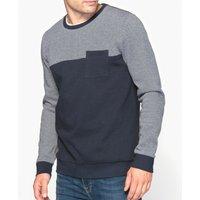 Two-Tone Crew Neck Sweatshirt