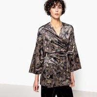 Velvet Kimono Jacket