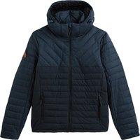 Tweed Mix Fuji Padded Jacket with Hood