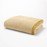 Striped Printed Cotton Bath Sheet, 500 g/m ²