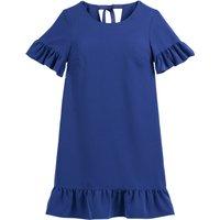 shop for Ruffled Tie-Back Shift Dress at Shopo