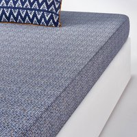 Popayan Printed Cotton Fitted Sheet
