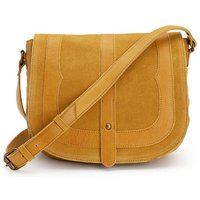 Dilara Leather/Suede Handbag