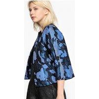 Jacquard Bolero Style Jacket