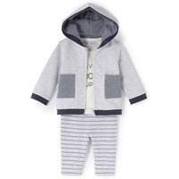 3-Piece Fleece Outfit, Birth-2 Years