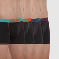 Mix and Colors Boxer Cotton Hipsters with Coloured Waistband