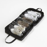 Shoe Tidy Bag With 6 Clear Pockets
