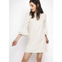 Mini Dress with 3/4 Length Sleeves