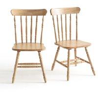 Lunja Set of 2 ' Ladder Back Chairs