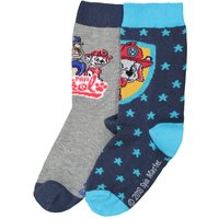 Pack of 2 Pairs of Knee-High Socks, Sizes 24/26 to 31/34