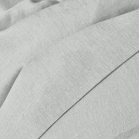 Effen dekbedovertrek in gewassen linnen