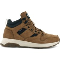 Axeon Army R Mid LTH Leather Hi-Top Trainers