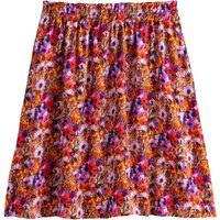shop for Mini Skater Skirt in Floral Print at Shopo