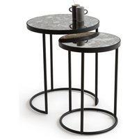 Lipstick Nested End Tables (Set of 2)