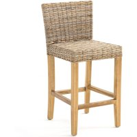 INQALUIT Rattan Mid-Height Bar Chair