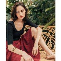 shop for Ruffled Maxi Skirt at Shopo