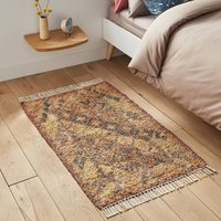 Serena Cotton and Jute Bed Runner Rug