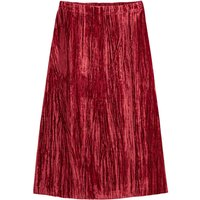 shop for Crushed Velvet Midaxi Skirt at Shopo