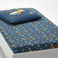 SUPER HEROS Printed Fitted Sheet