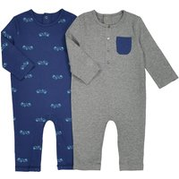 Pack of 2 Cotton Printed Bodysuits, Birth-3 Yrs