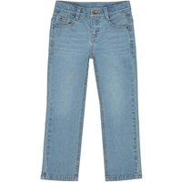 Boys' Loose Fit Wide Leg Jeans, 3-12 Years