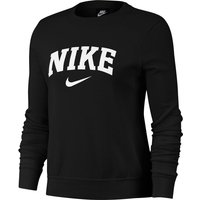 Cotton Mix Logo Sweatshirt With Crew-neck