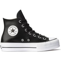 Chuck Taylor All Star Lift Leather Hi Trainers
