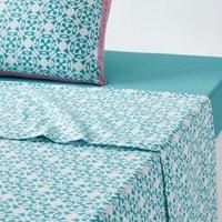 Yucatan Printed Cotton Flat Sheet
