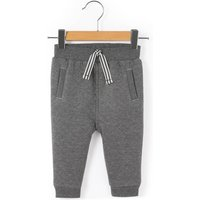 Quilt-Effect Joggers, 1 Month - 3 Years