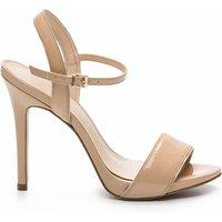 Jadia Ver Patent Leather Stiletto Heel Sandals