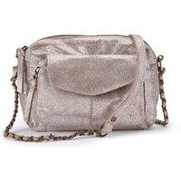 Naina Mini Leather Shoulder Bag with Chain Strap