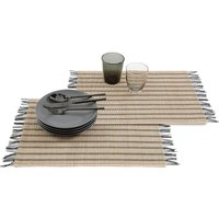 Tyhia Finged Bamboo Placemats (Set of 4)