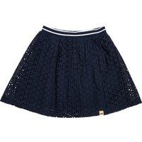 Plain Short Flared Skirt