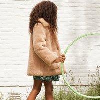 Faux Fur Coat, 3-12 Years