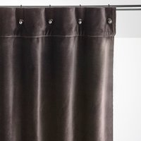 Lavezzi Velvet Single Curtain with Little Eyelets