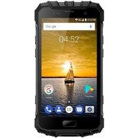 Smartphone Incassable 4G Android 7 Etanche IP68 Écran Gorilla 3 NFC RAM 6GB+64GB Double SIM Gris
