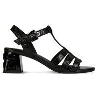 D Seyla S Mid Plus Leather Sandals
