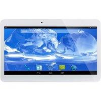 Tablette 3G 10.1 pouces Android Quad Core bluetooth Dual SIM 1Go RAM 16 Go blanc