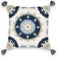 AM.PM BUNTA Ottoman-Inspired Linen/Cotton Cushion Cover