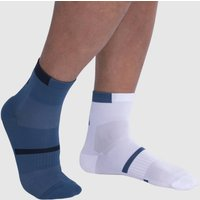 Pack of 2 Pairs of Cushioned Graphic Print Socks