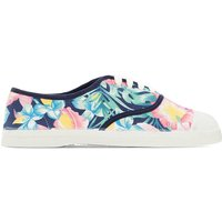 Sneackers Fantasia floreale multicolore donna Baskets Hibiscus