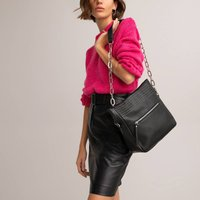 Leather Studded Messenger Bag