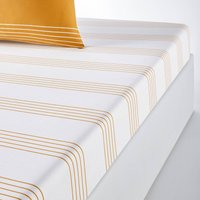 Horizon Striped Cotton Fitted Sheet