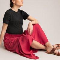 shop for Ruffled Maxi Maternity Skirt at Shopo