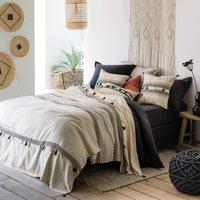 PARFETO Tasselled Cotton Bedspread